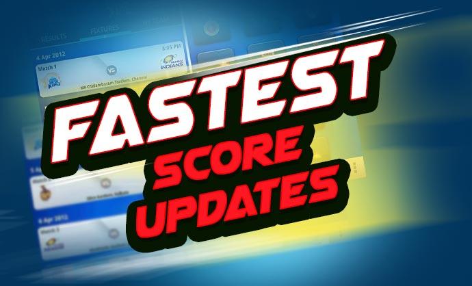 Fastest Cricket Score Updates