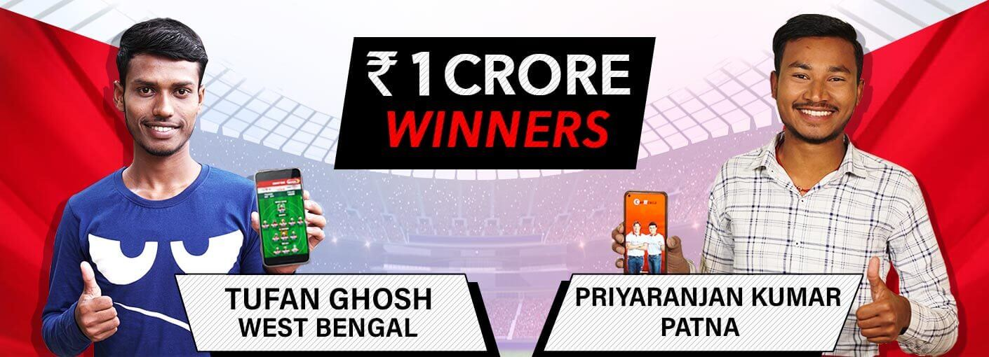Rs. 1 CRORE WINNERS