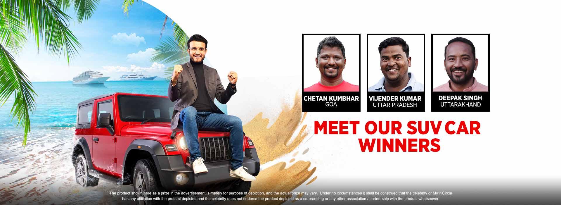 Meet Our Crorepati Winners