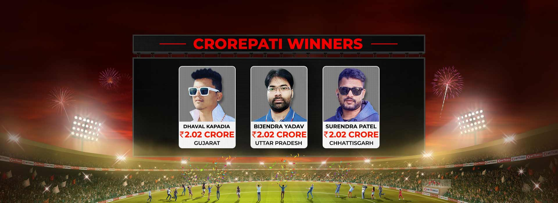 Weekly Crorepati Winners