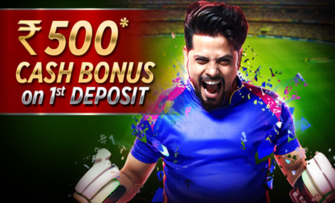 Fantasy Cricket Bonus - Rs 500