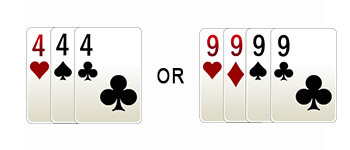 set in points rummy game