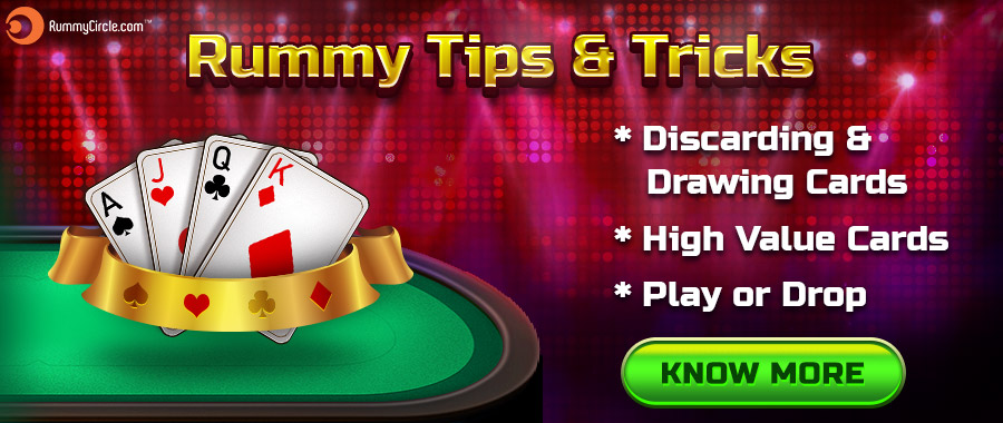 Rummy Tips | Rummy Tricks - Indian Rummy Game Winning Tips
