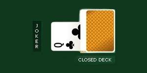 Queen as wild joker card