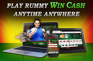 Play rummy win cash anytime anywhere