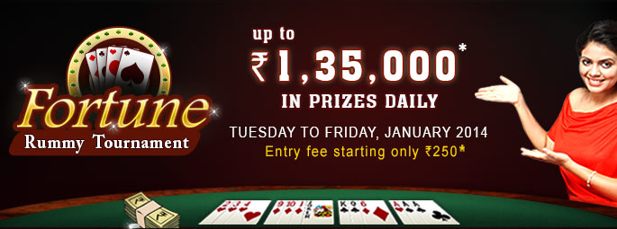 Upto Rs. 1,35,000 in prizes daily | Entry Fee starting Rs.250
