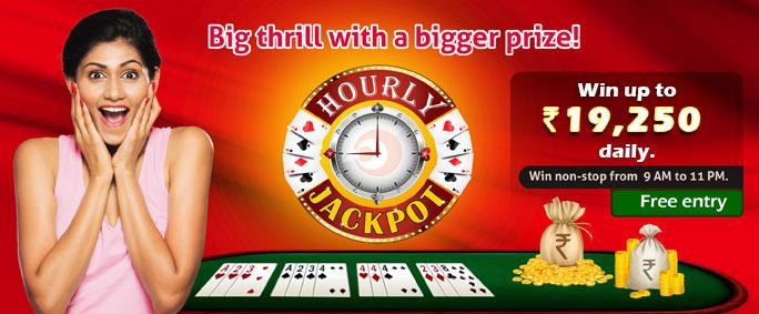 Hourly Jackpot Tournaments