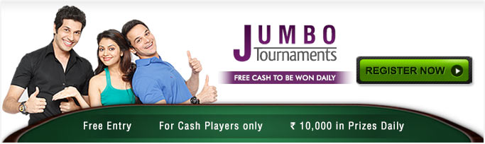 Jumbo Tournament - Free Rummy Tournament With Daily Cash Prizes