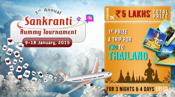 3rd Annual Sankranti Rummy Tournament