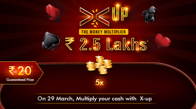 Multiply your money this March with X-Ups