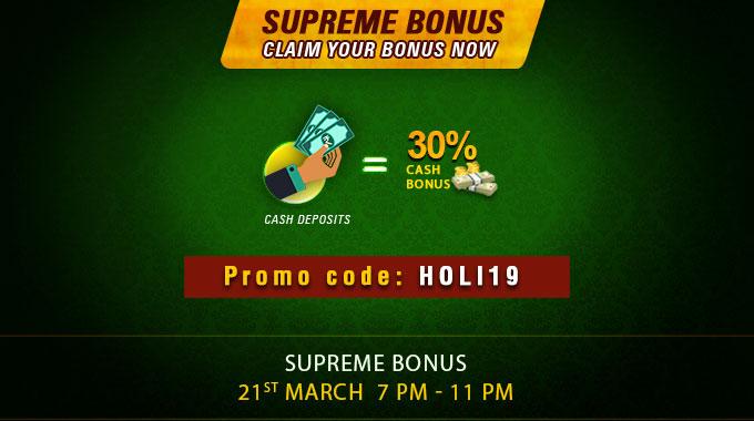 Supreme Bonus