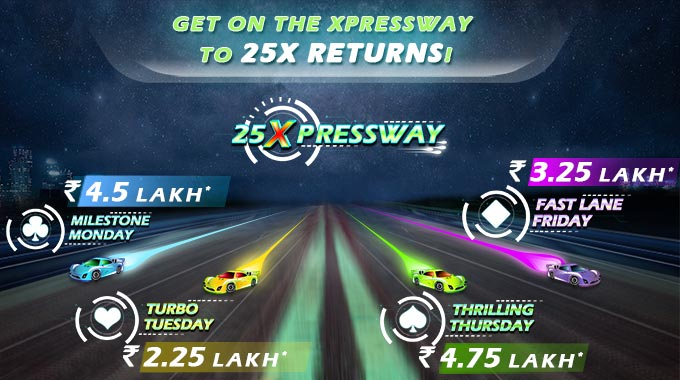 Get on the Xpressway to 25X Returns!