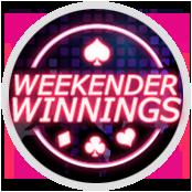 Weekender Winnings